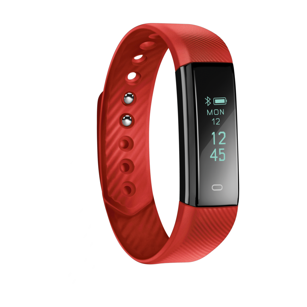 Acme ACT101Fitness Activity Tracker–RED One Size NEW BOXED